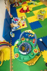 asilo il girasole giochi sul tappeto